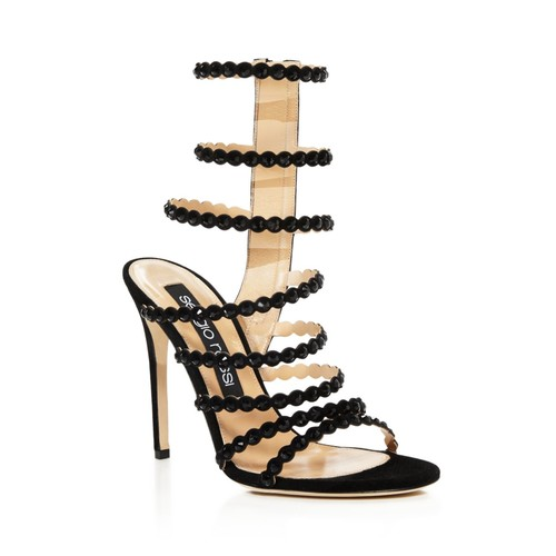 Women's Kim Embellished Strappy High Heel Sandals