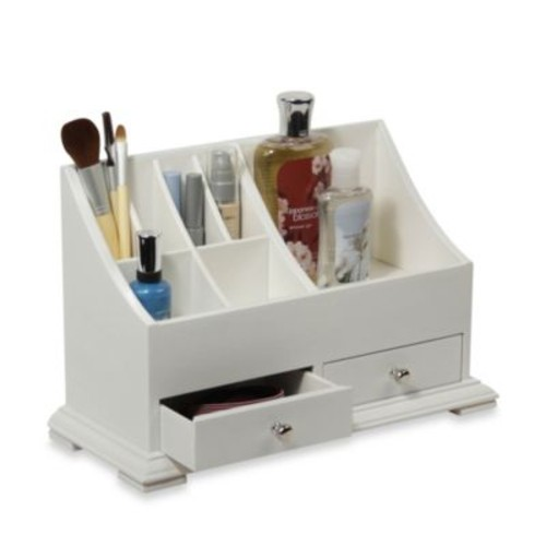 Personal Hair Style Organizer in White
