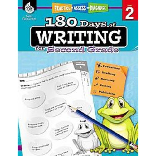 180 Days of Writing for Second Grade Book