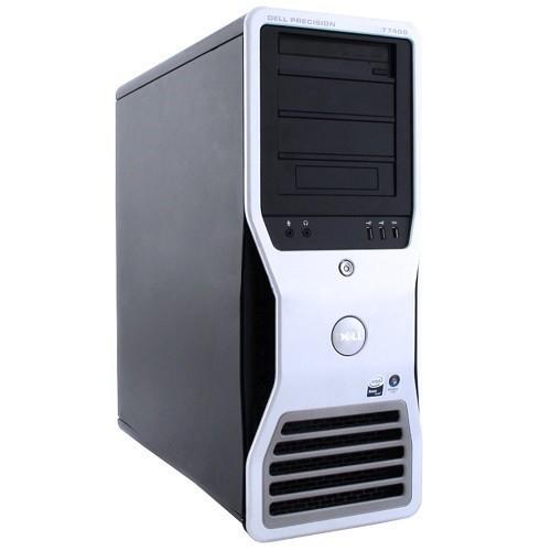 Dell Precision T7400 Intel Xeon Quad-Core 2.66GHz Workstation - 8GB RAM, 750GB HDD, DVD-ROM, Gigabit Ethernet - Refurbished (PC1-0345)