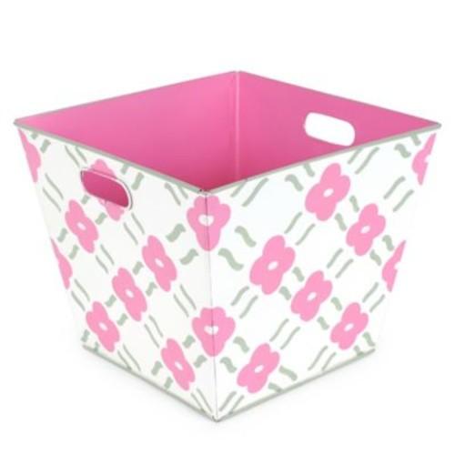 Jayes Studio Pacifico Storage Bin in Pink