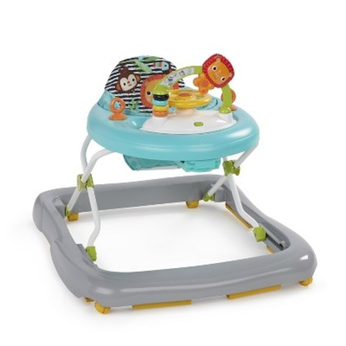 Bright Starts Kaleidoscope Safari Walker - Blue
