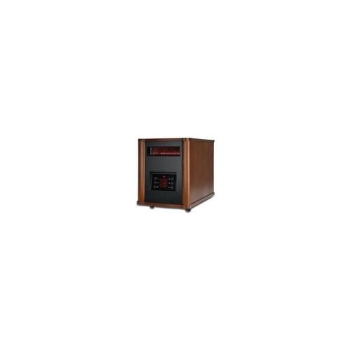 JARDEN JAR#HRH7403EREDM 1500 Watt Infrared Console Heater with Wood Housing