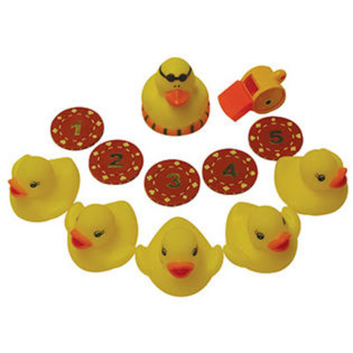 Water Sports LLC Water Sports 82056-3 Chuck The Duck Pool Game - Quantity 1