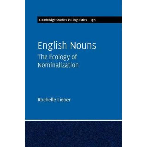 English Nouns: The Ecology of Nominalization