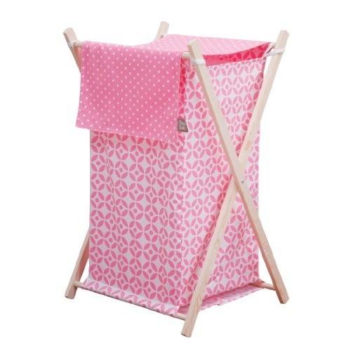 Trend Lab Lily Hamper Set, Pink