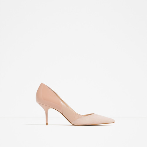 MID - HEEL LEATHER SHOES-Extended sizes-SHOES-WOMAN