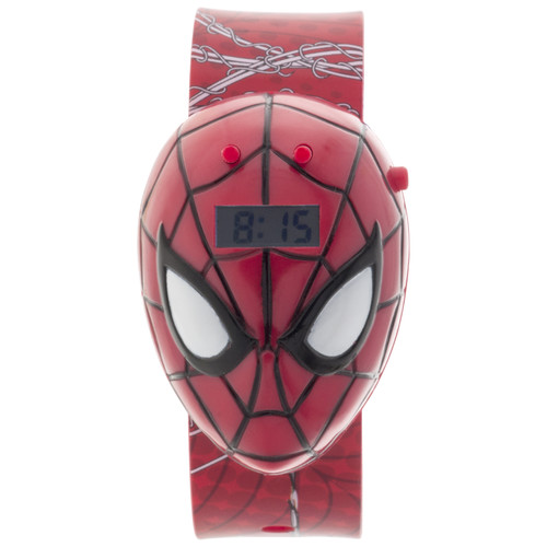 Marvel Spider-Man Sound LCD Watch