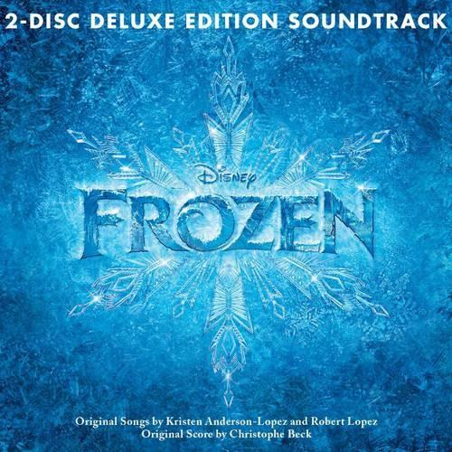 Frozen 2 Disc Deluxe Edition Soundtrack Soundtrack, Deluxe Edition, Original recording reissued