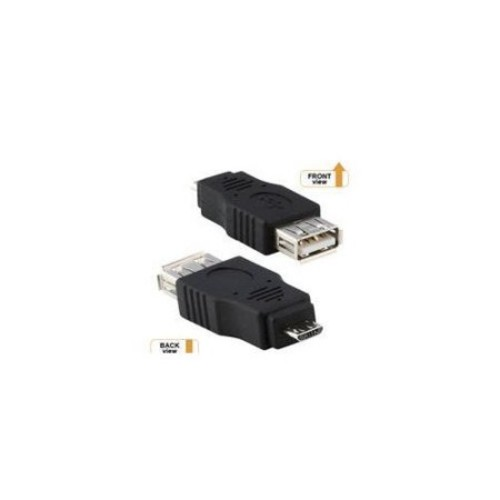 USB A FEMALE TO MICRO B MALE ADAPTER STD SERIES LIFETIME WARR