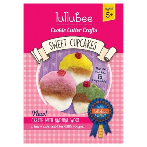 Lullubee Cookie Cutter Wool Craft Set Cupcake