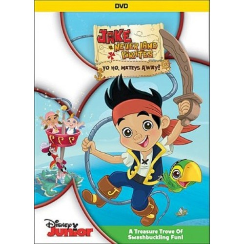 Jake and the Never Land Pirates: Season 1, Vol. 1 [2 Discs] [DVD/CD] [With Eye Patch]