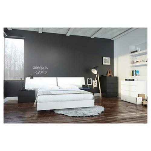 Melrose 6 Piece Queen Size Bedroom Set - Nexera