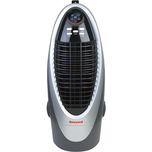 Honeywell - Portable Evaporative Air Cooler - Silver