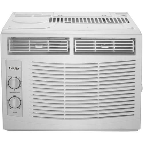 Amana Window-Mounted Air Conditioner With Mechanical Controls, 12 1/2
