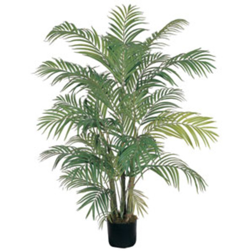 Nearly Natural Artificial Plants Areca Palm 6-foot Silk Tree