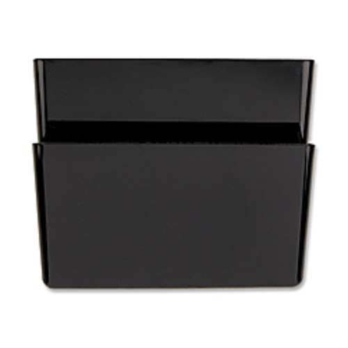 OIC Wall Mountable Space-Saving Files, Letter Size, Black