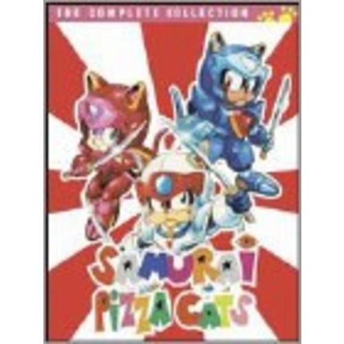 Samurai Pizza Cats: The Complete Series [8 Discs] [DVD]