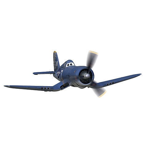 Planes - Skipper Riley Peel and Stick Giant Wall Decals