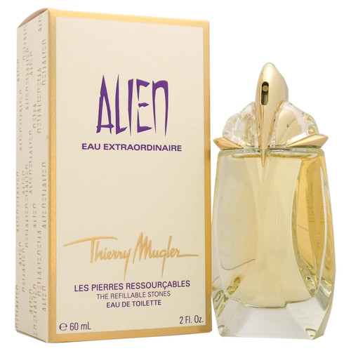 Alien Eau Extraordinaire by Thierry Mugler for Women - 2 oz EDT Spray (Refillable)