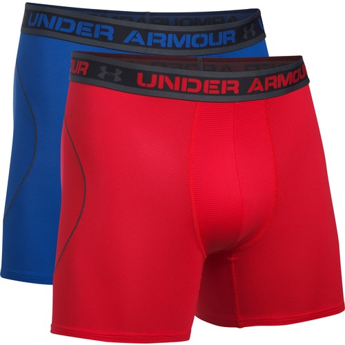 Under Armour Men's Iso-Chill Mesh 6'' Boxerjock Boxer Briefs 2 Pack