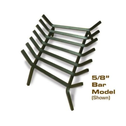 Master Flame Welded Steel Fire Pit Grate; 9'' H x 32'' W x 17'' D