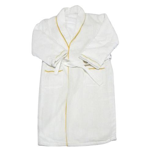 Radiant Saunas Spa and Bath European Waffle Weave Terry Cloth Robe