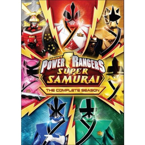 Power Rangers Super Samurai: The Complete Season (dvd_video)