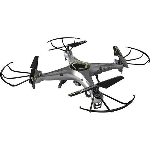 Protocol - Dronium Two AP Drone with Remote Controller - Silver/Black