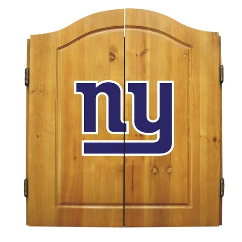 York Giants Dartboard Cabinet