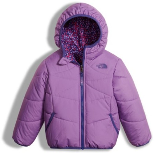 Perrito Reversible Insulated Jacket - Toddler Girls'