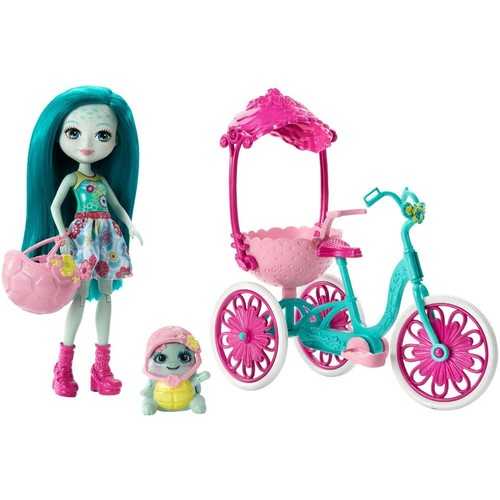 Enchantimals Taylee Turtle Doll with Turtle and Tricycle Playset
