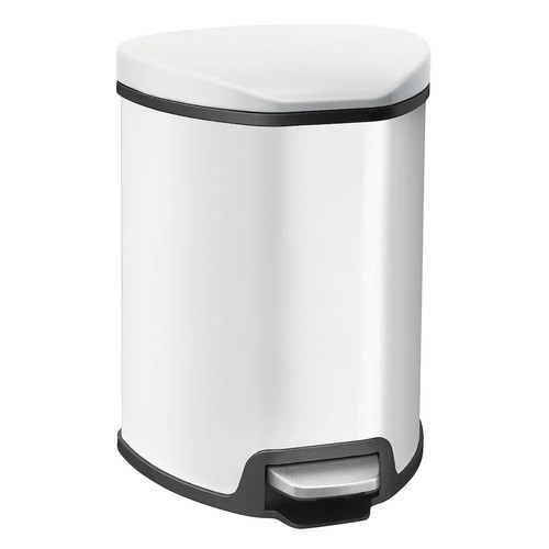 EKO Stainless Steel 1-Gallon Grace Step Trash Can