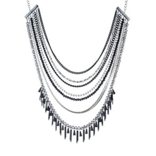 Black Magic Multi-Row Necklace