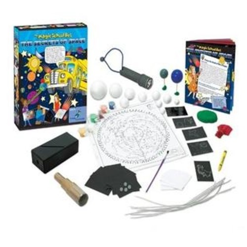 The Young Scientists Club WH-925-1127 Magic School Bus Series- Secrets Of Space Kit