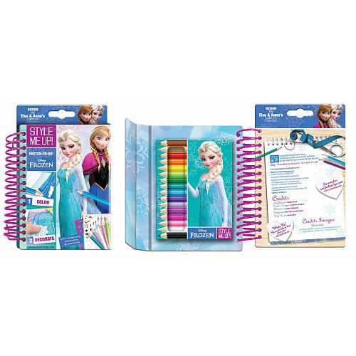 Style Me Up! Disney Frozen Sketch-to-Go Coloring Kit