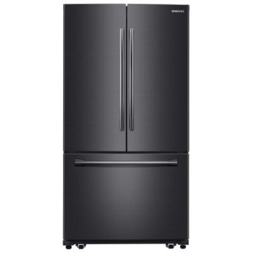 Samsung 25.5 cu. ft. French Door Refrigerator with Internal Water Dispenser in Black Stainless Steel