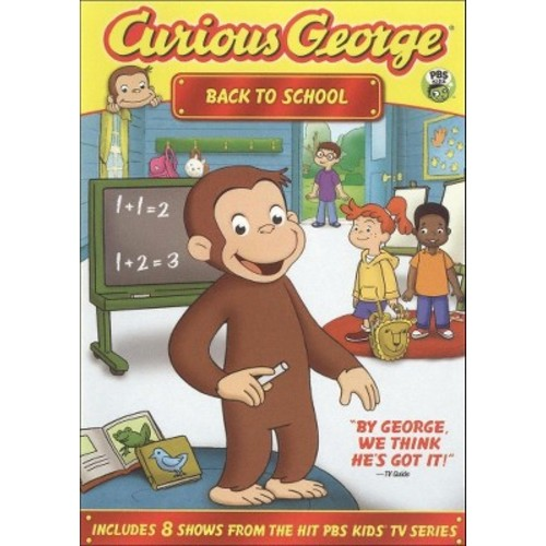 Curious George: Back to School (dvd_video)