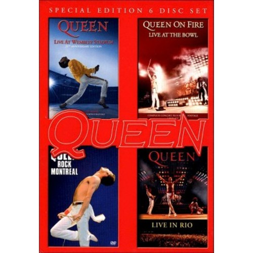 Live at wembley/Rock montreal/Live in (DVD)