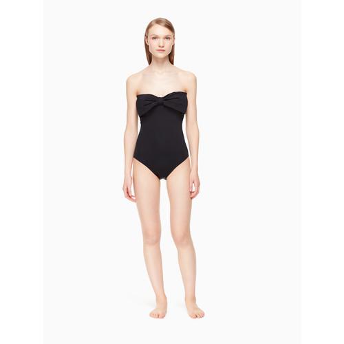 georgica beach bandeau one-piece swimsuit