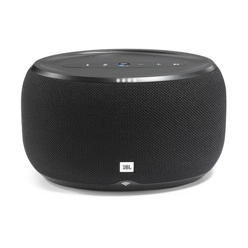 JBL LINK 300 (Black) Wireless powered multi-room speaker with Google Assistant, Chromecast built-in, and Bluetooth