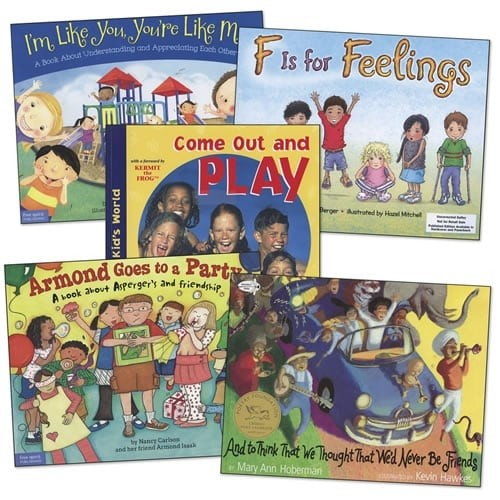 Friendship and Feelings Book Set (Set of 5)