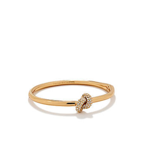 kate spade new york Sailor's Knot Pave Bangle Bracelet