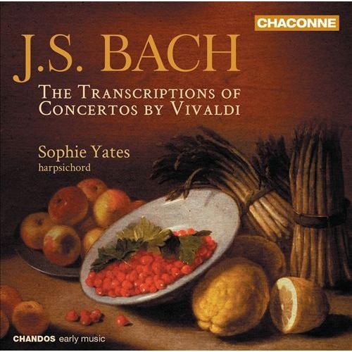 Transcriptions Of Concertos By Vivaldi - CD