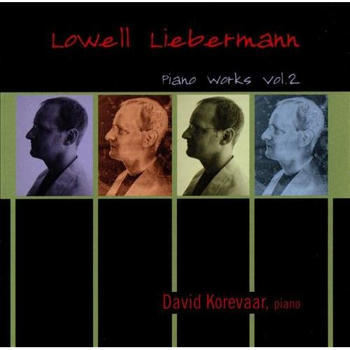 Liebermann: piano Works Vol 2 CD (2004)