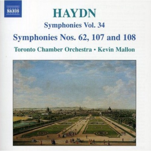 Joseph Haydn: Symphonies, Nos. 62, 107 and 108; Vol. 34