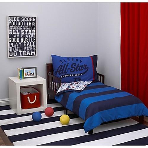 carter's 4-Piece All-Star Toddler Bedding Set