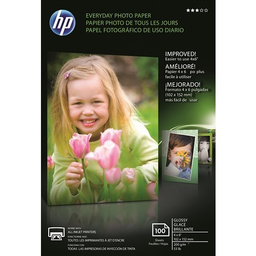 HP CR759A Everyday Photo Paper, Glossy