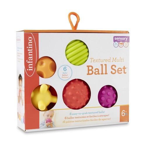 Infantino 6-Piece Textured Ball Set