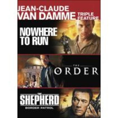 Nowhere to Run/The Order/The Shepherd: Border Patrol [2 Discs] [DVD]